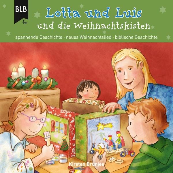 Lotta und Luis und die Weihnachtskisten