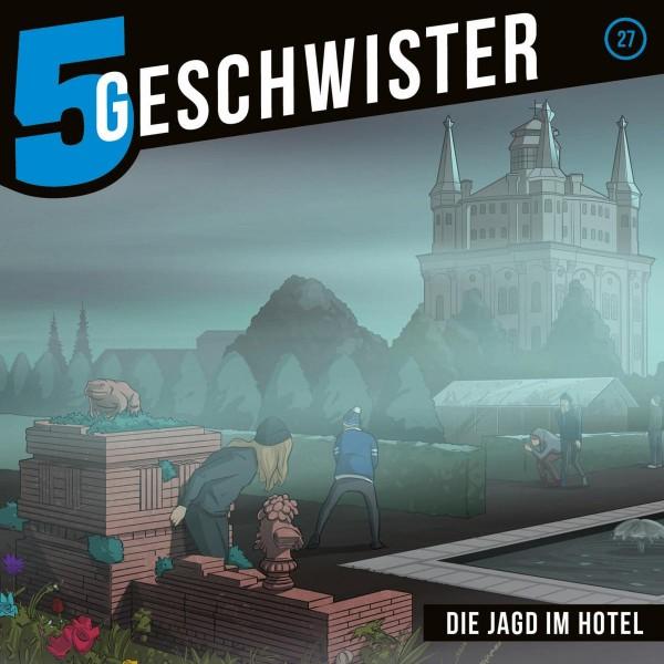 Die Jagd im Hotel (5 Geschwister 27)