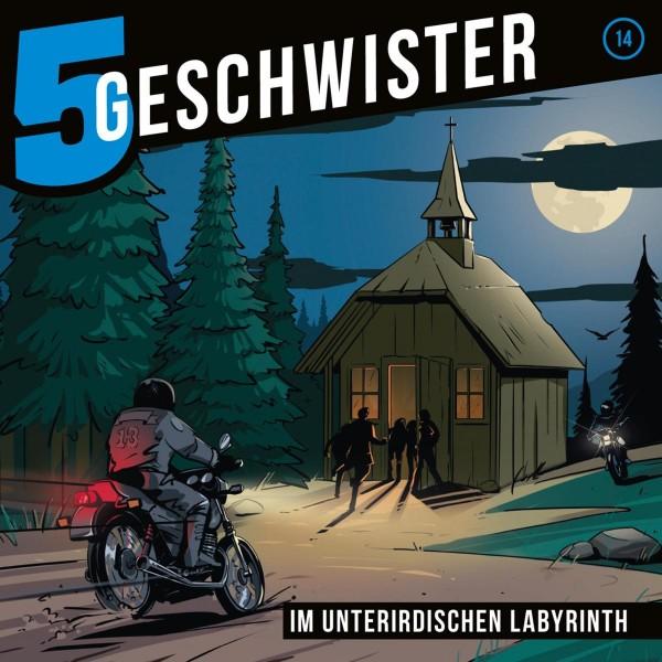 Im unterirdischen Labyrinth (5 Geschwister 14)
