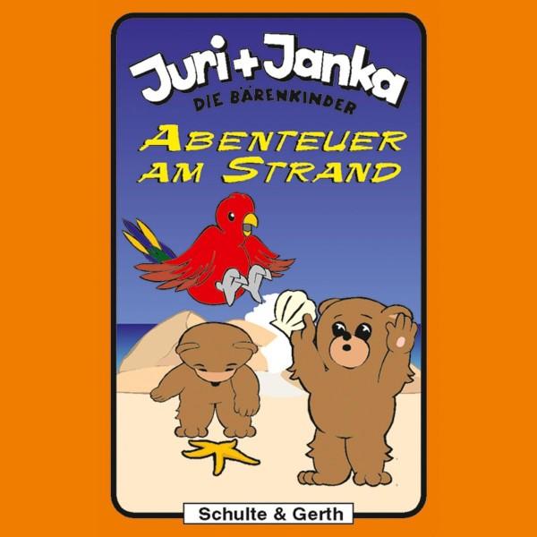 Abenteuer am Strand (Juri und Janka - Die Bärenkinder 7)