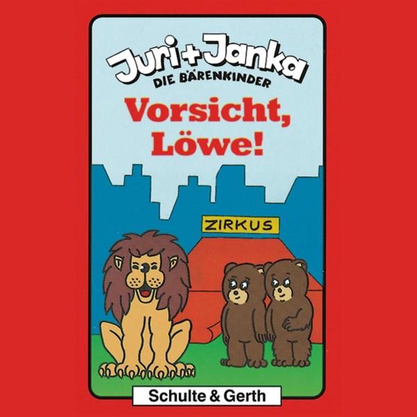 Vorsicht, Löwe! (Juri und Janka - Die Bärenkinder 4)
