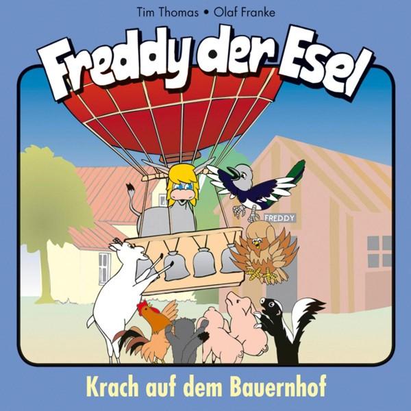 Krach auf dem Bauernhof (Freddy der Esel 21)