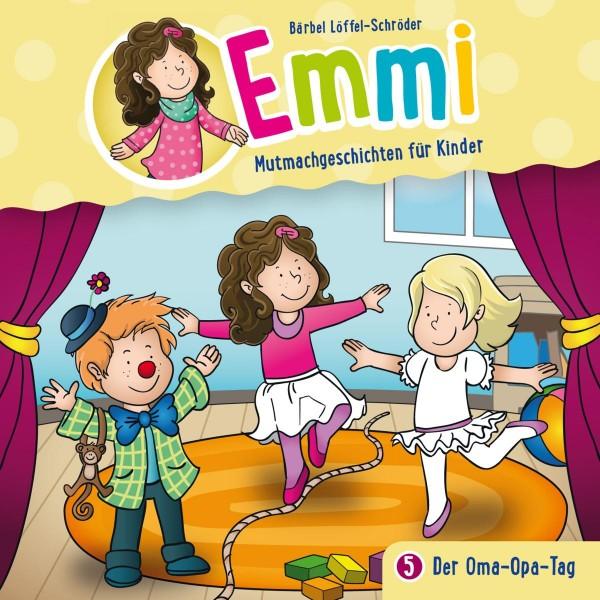 Der Oma-Opa-Tag (Emmi - Mutmachgeschichten für Kinder 5)
